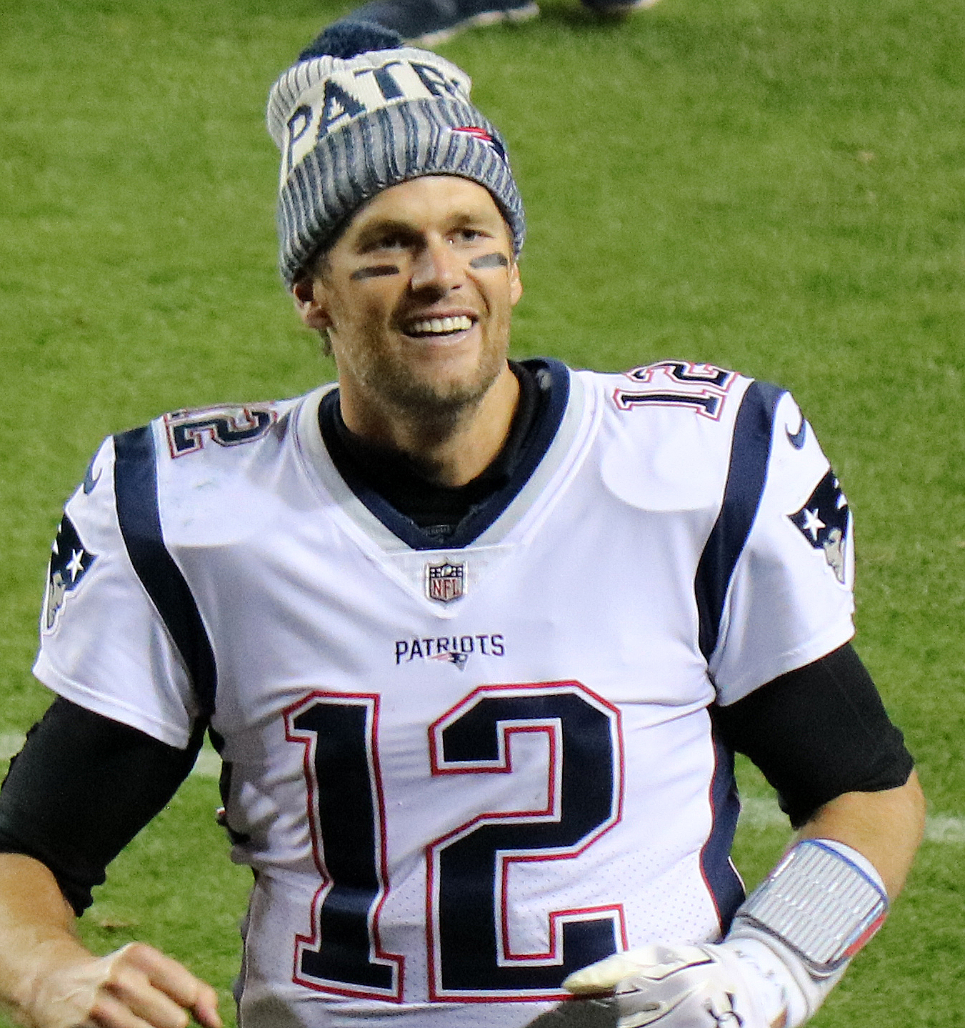 Tom Brady, the New England Patriots' quarterback prepares for what could be his 6th Super Bowl win. Photo courtesy of Wikipedia Commons.