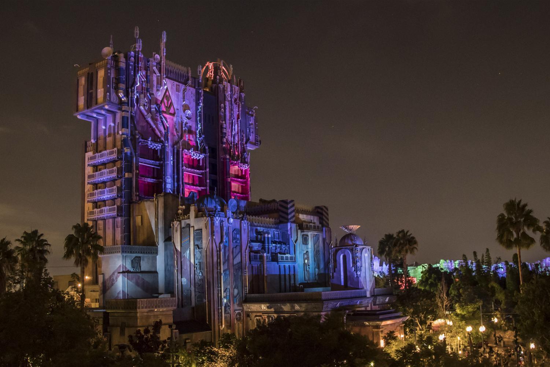 Disney's California Adventure at Disneyland during Halloween