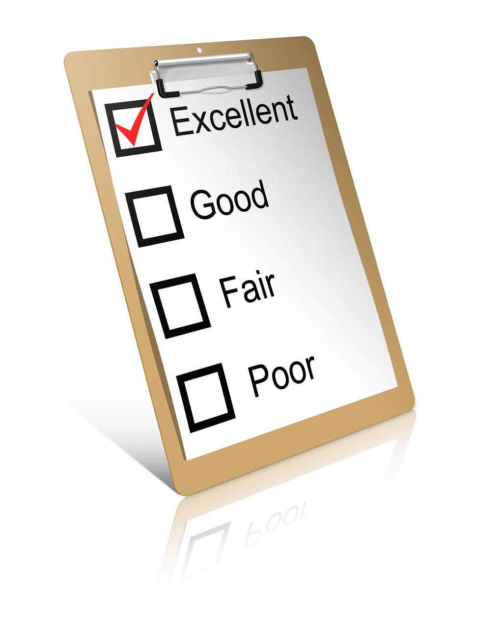 Score Clipboard Mark Business List Check