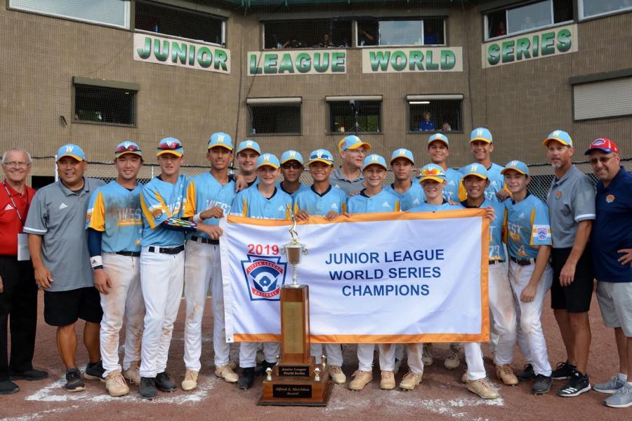 Tyler Simkins and the Golden Hill Little League