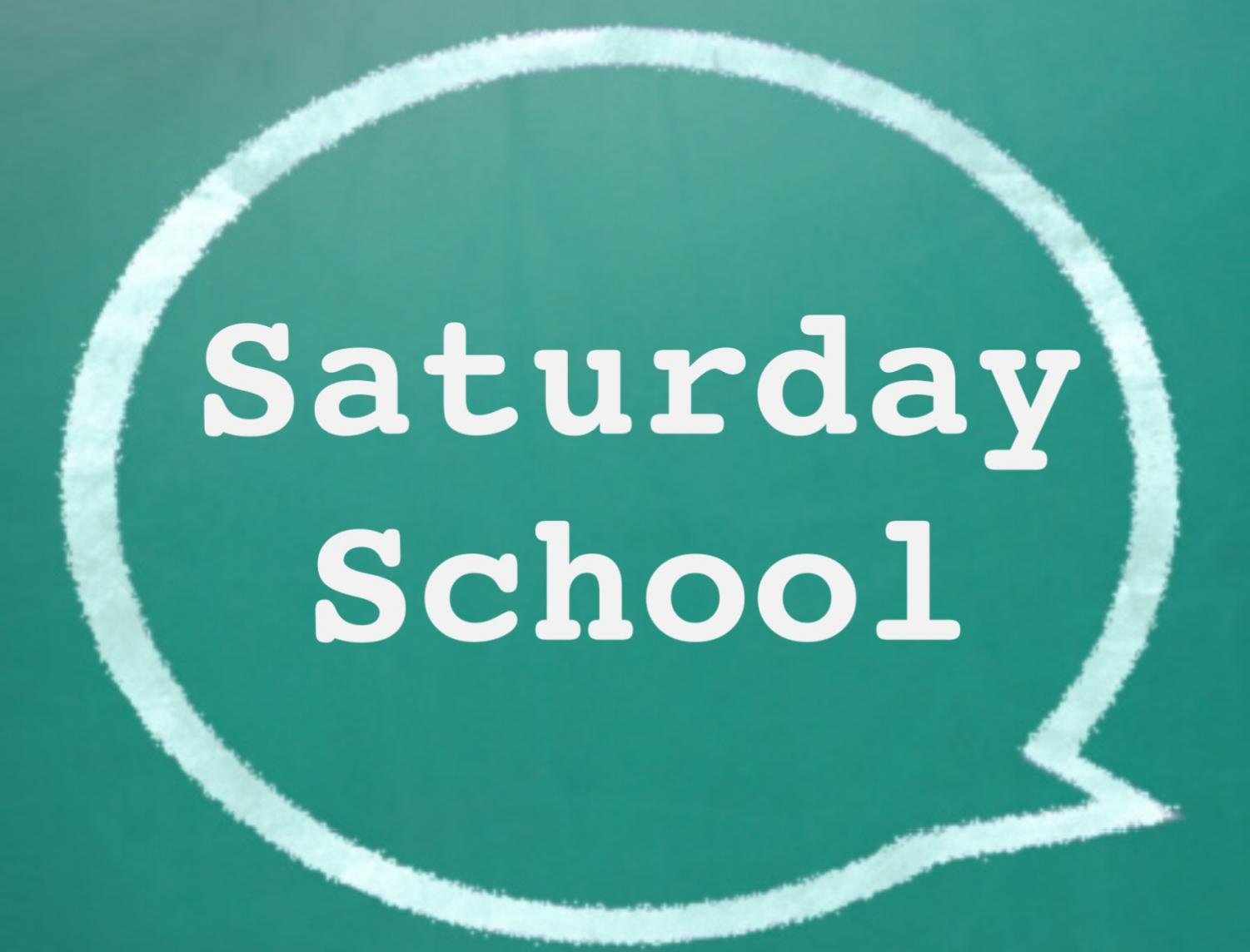 Saturday School Opportunity for Attendance Recovery