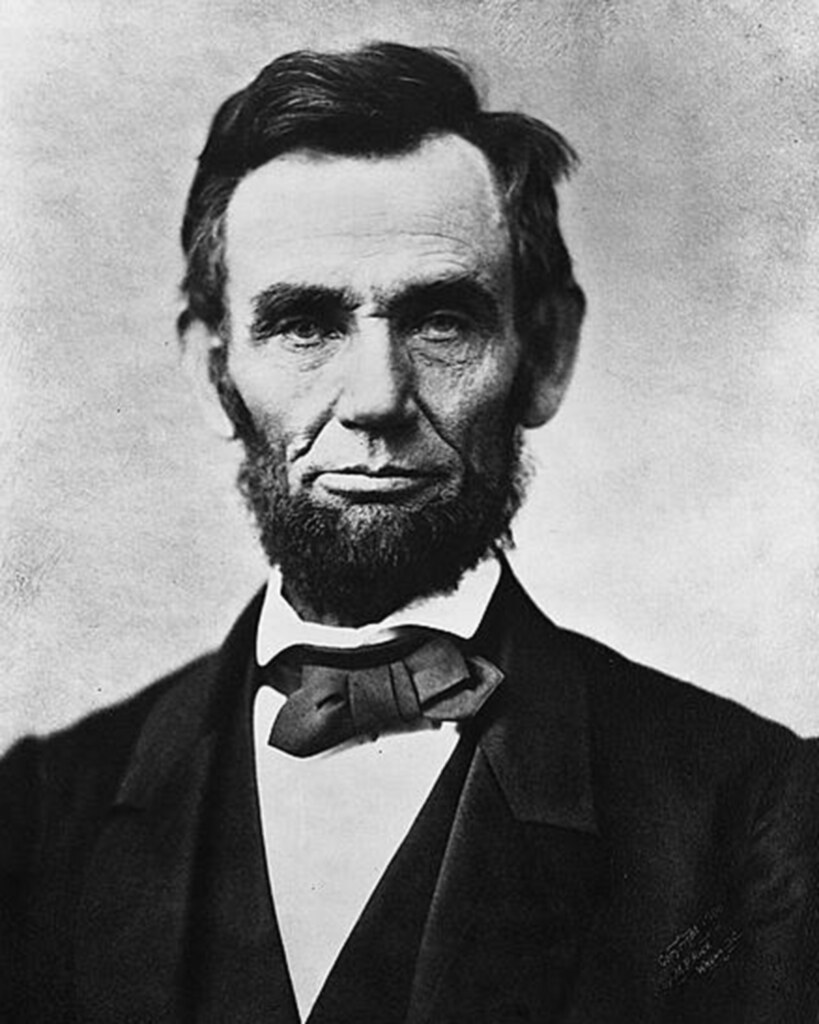 Abraham Lincoln  Found on https://www.flickr.com/photos/usdagov/6302908371