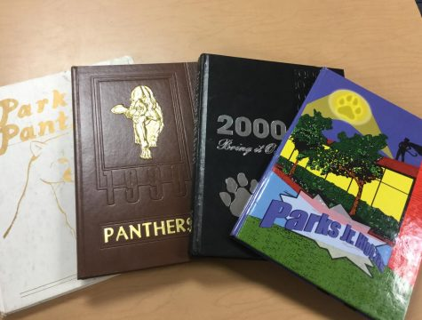 The past yearbooks of Parks