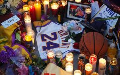 [Courtesy: Wikimedia Commons] Photo of a Fan-made Memorial Outside of Staples Center