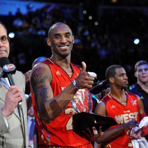 MVP Kobe Bryant at NBA All-Star Game