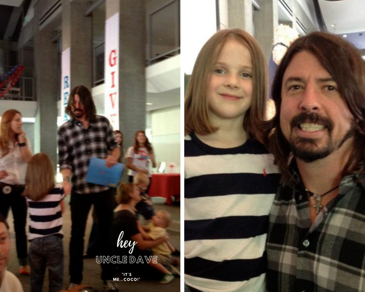 Foo Fighters Dave Grohl and Coco Standley