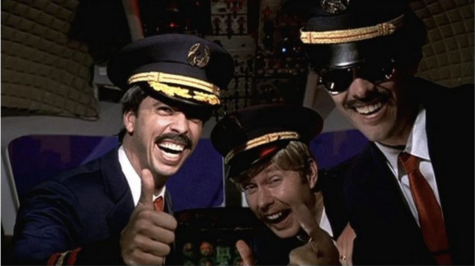 Foo FIghters Pilots Dave Grohl, Taylor Hawkins, and Nate Mendel in Learn to Fly Video