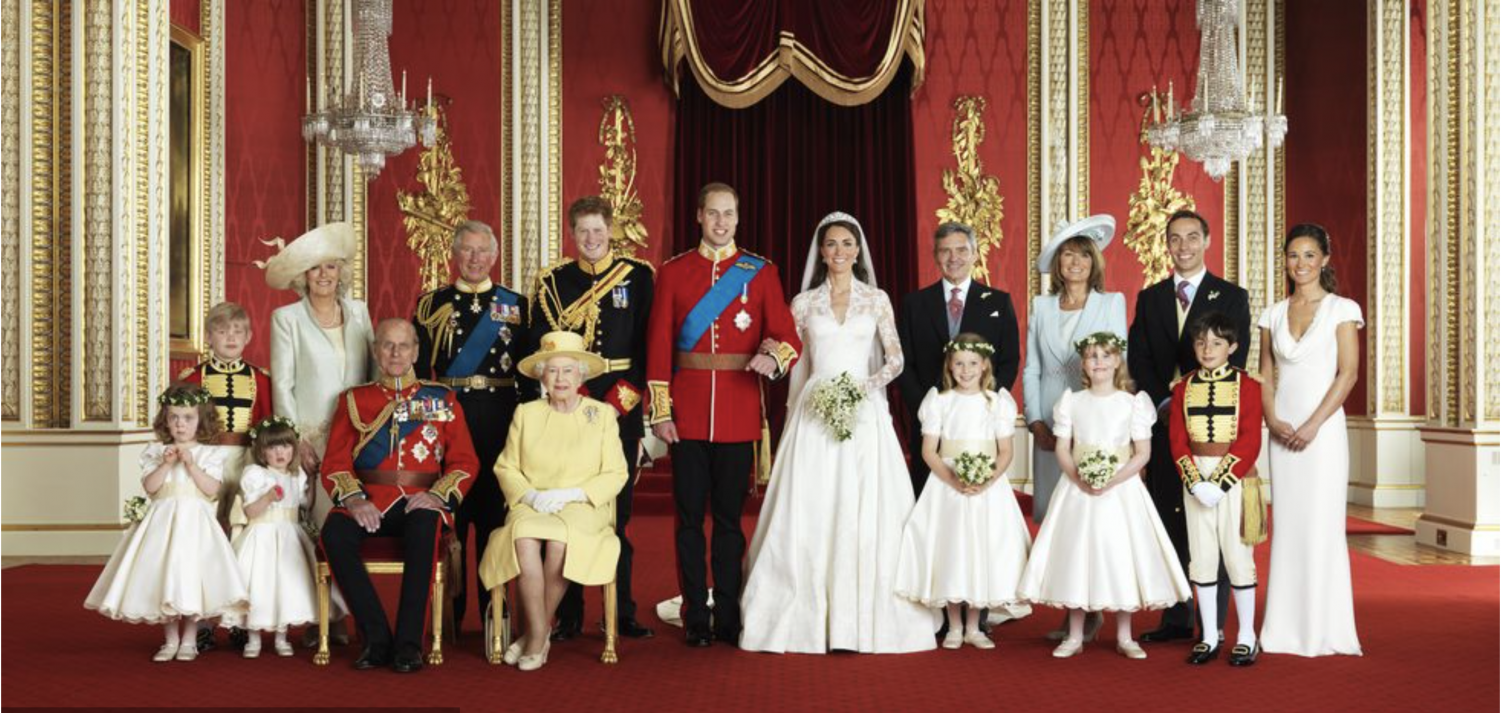 Prince William and Duchess Kate's Wedding