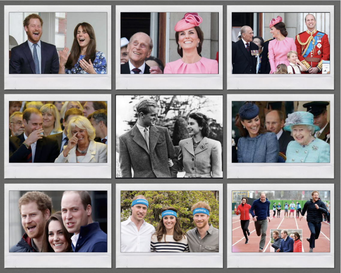 Royal Family During Happy Times